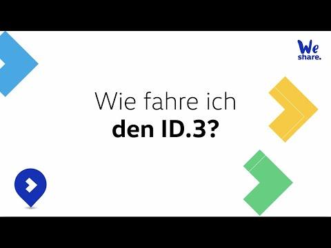 So fährst du den ID.3 - WeShare Tutorial