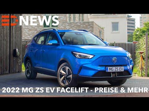 2022 MG ZS EV Facelift Mehr Reichweite Ladeleistung Akku Electric Drive News