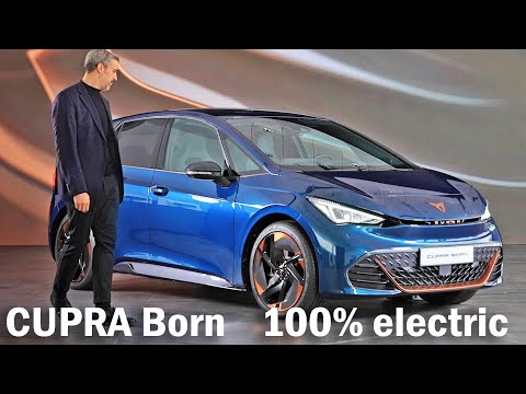 CUPRA Born - all electric - What will the CUPRA Born look like 5 key features