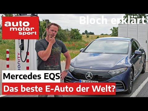 Mercedes-Benz EQS: Wie weit kommt die Elektro S-Klasse? - Bloch erklärt #149 | auto motor und sport