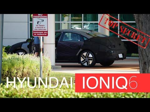 2022 IONIQ 6 FULL ELECTRIC SEDAN FROM Hyundai 아이오닉 6