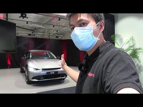 Kia EV6 interior review