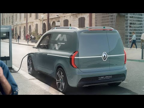 2020 Renault Kangoo Z.E. Concept previews new electric Kangoo
