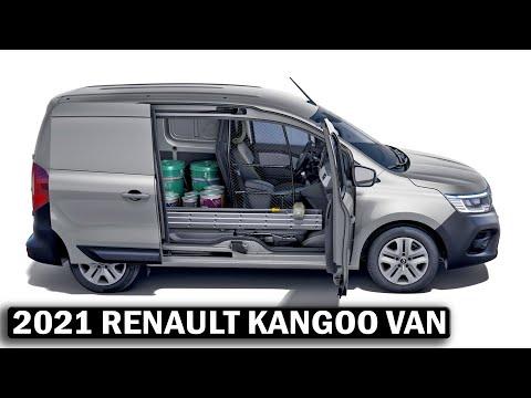 2021 RENAULT KANGOO VAN Interior, Tech specs, All you need to know