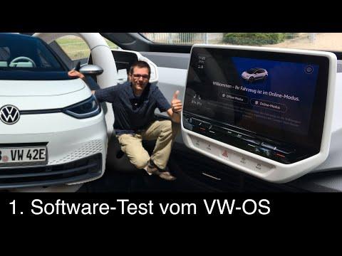 VW ID.3 VW OS: 1. Test: Kurzüberblick über die neue VW-Software. Wie gut ist sie in der Praxis?