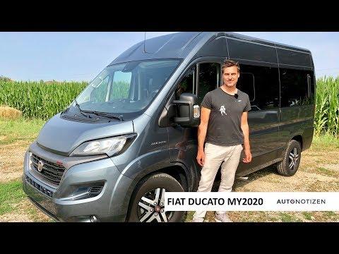 Fiat Ducato Electric und Diesel mit 9-Gang-Automatik MJ 2020: Update für die Wohnmobil-Basis