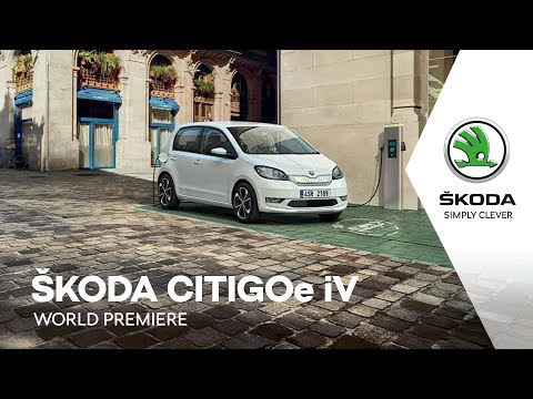 ŠKODA CITIGOe iV: World Premiere