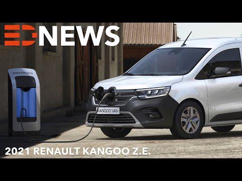 2021 Renault Kangoo Z.E. - kommt der Mercedes-Benz Citan auch elektrisch als T-Klasse?