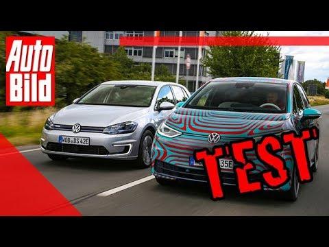 VW ID.3 vs e-Golf (2019): Vergleich - Elektro - Zukunft