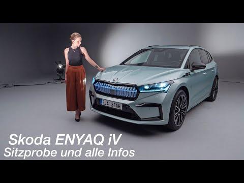 🔋 2021 Skoda ENYAQ iV: Unsere ersten Eindrücke, Sitzprobe und wichtige Infos [4K] - Autophorie
