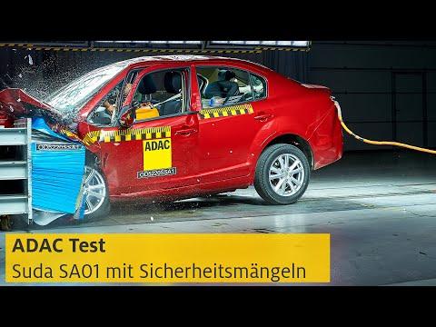 ADAC crasht Suda SA01: E-Auto, günstig, aber auch sicher? | ADAC
