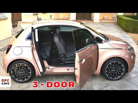 2021 Fiat 500 Electric 3+1 Debuts With Third Door