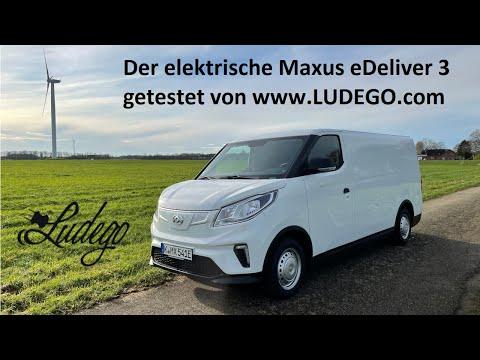 Ich packe meinen Maxus eDeliver 3. 2 Wochen und fast 2000km mit dem elektrischen Nutzfahrzeug.