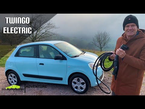 Renault Twingo Electric Life (2021) - Kleinstwagen nun auch mit reinem E-Antrieb -Test I Reichweite