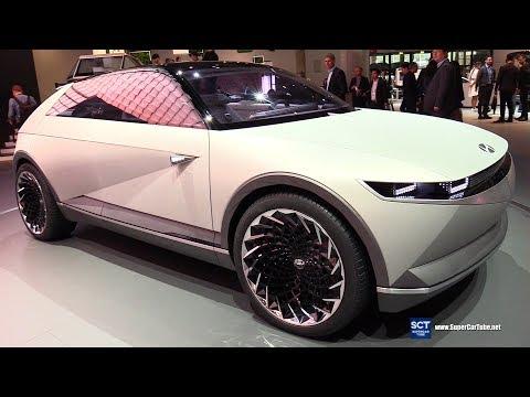 Hyundai 45 EV Concept - Exterior and Interior Walkaround - 2019 IAA Frankfurt Auto Show