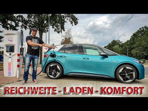 VW ID.3 - REICHWEITE bei 130km/h + 160km/h & LADESPEED!