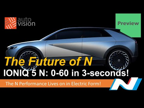 Ioniq 5 N is The Next Hyundai N Car! 0-60 in 3 seconds! The Future of N is High Performance EV!