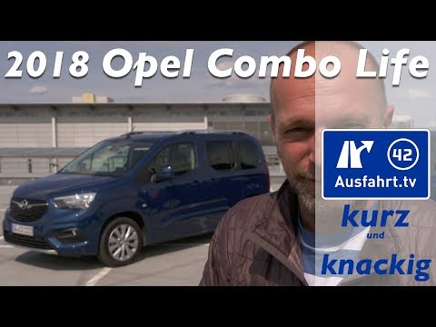 2018 Opel Combo Life E - Ausfahrt.tv Kurz und Knackig