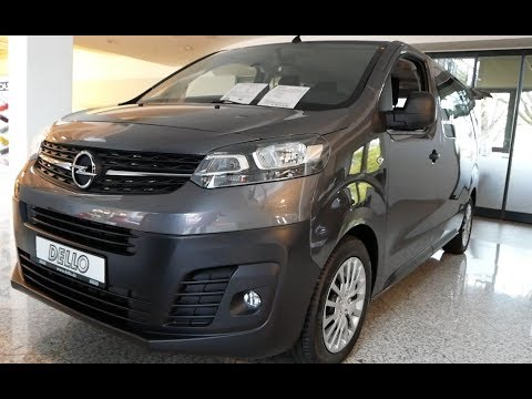 2020 New Opel Vivaro Exterior and Interior