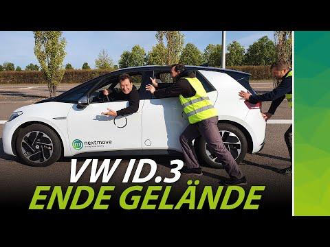 VW ID.3 übers Limit! Was passiert in der Todeszone? Nicht nachmachen!