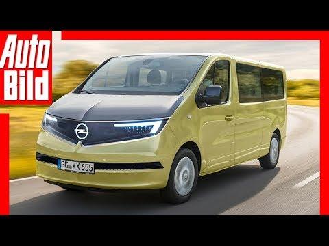 Zukunftsaussicht: Opel Vivaro (2019) Details / Erklärung