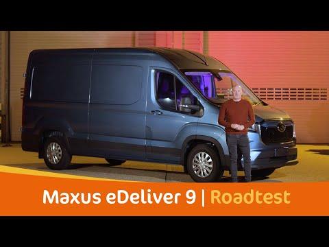 Does The EV Van Revolution Start With Vans Like The Maxus eDeliver 9? | Tom Roberts Van Video | #ev