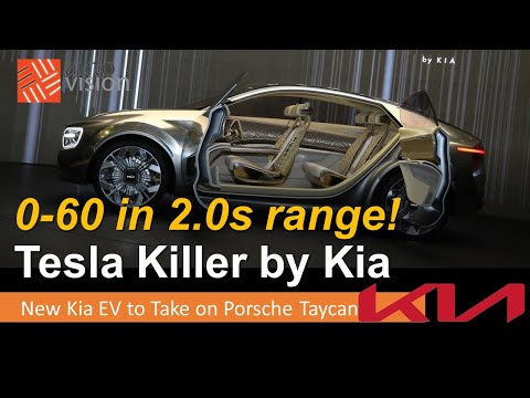 New Kia EV will compete with Tesla and Porsche Taycan with 2.0-sec. 0-60 acceleration! Video