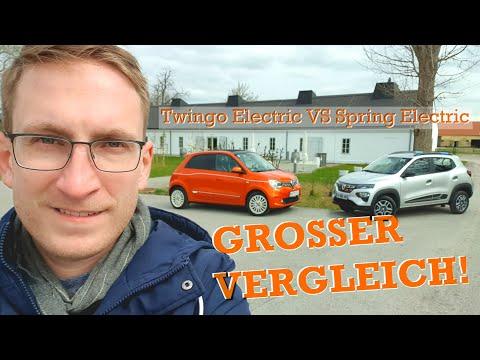 Renault Twingo Electric vs. Dacia Spring Electric | autofilou [1440p]