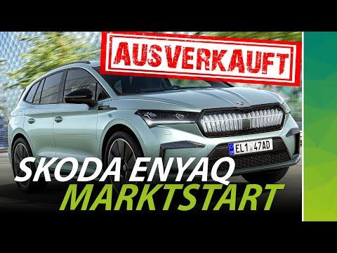 Skoda Enyaq: kaum da, schon ist er weg! Elektroauto zum Marktstart fast vergriffen!