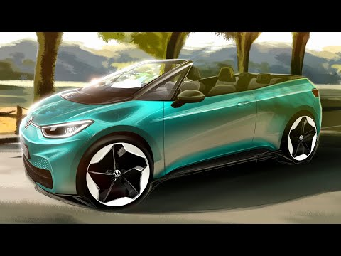 New Volkswagen ID.3 Convertible 2021 - should this concept become reality?