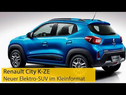 Renault City K-ZE: Neuer Elektro-SUV im Kleinformat | ADAC