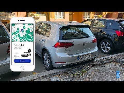 WeShare ausprobiert! Elektro Carsharing von VW - touchbenny