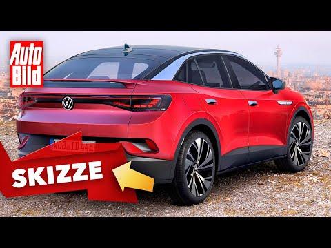 VW ID.5 (2021): Neuvorstellung - Skizze - SUV-Coupé - Elektro - Info