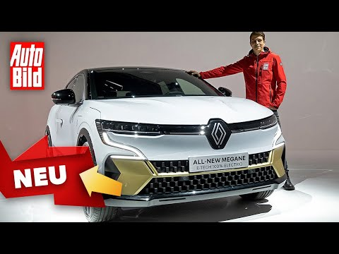 Renault Mégane E-Tech Electric (2022) |Erster Check im Elektro-Mégane |Sitzprobe mit Moritz Doka