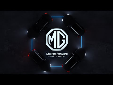 MG Autumn Event – Charge Forward | 7 Oct | 11:00h CET