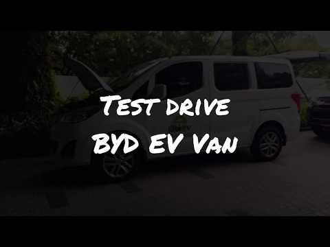 Test Drive BYD EV Van [EP:2]