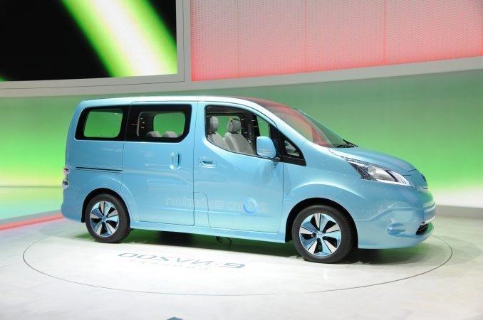 Nissan e-NV200 für Gewerbetreibende
