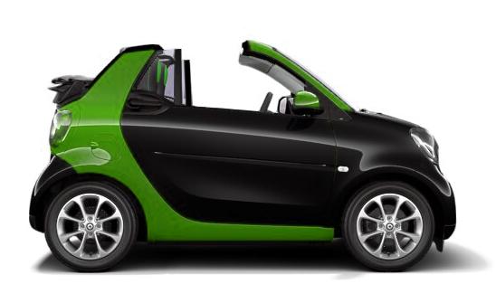 smart fortwo Cabrio EQ Passion