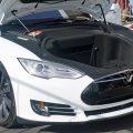 Tesla Model S P70 Trunk