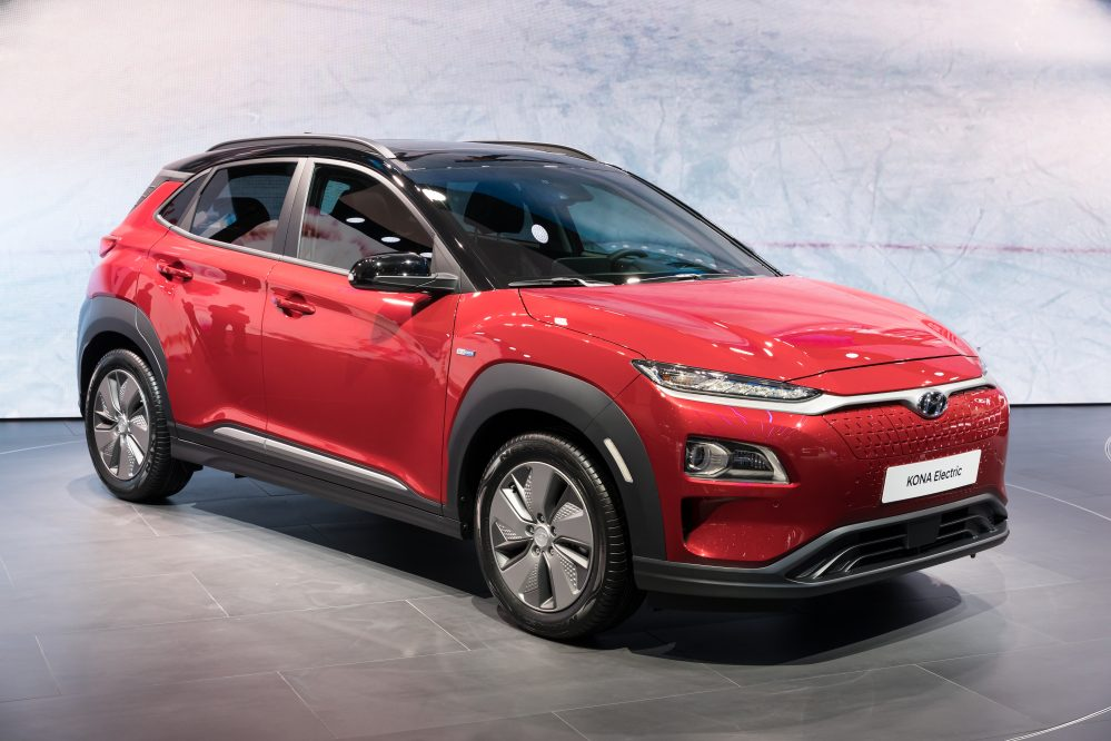 Hyundai Kona Elektro 2020 (nur noch 64kWh für dieses Jahr) 16%MwSt.
