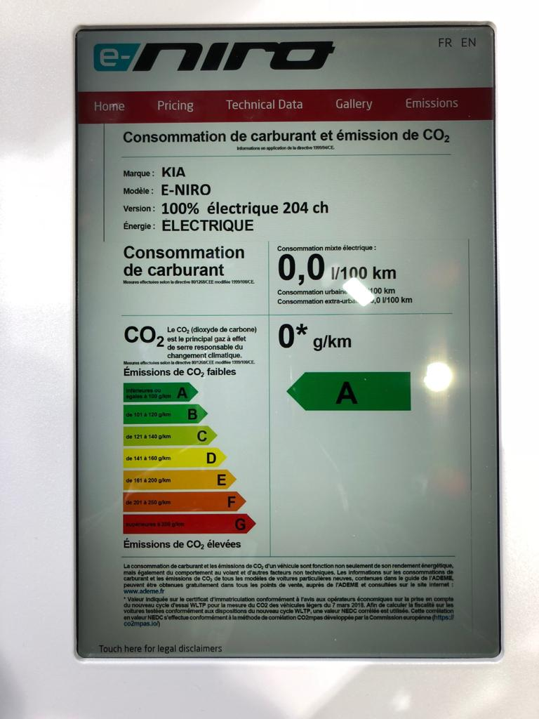 Kia e-Niro Edition 7 2020, 39,2kWh und 64kWh inkl. Bafa