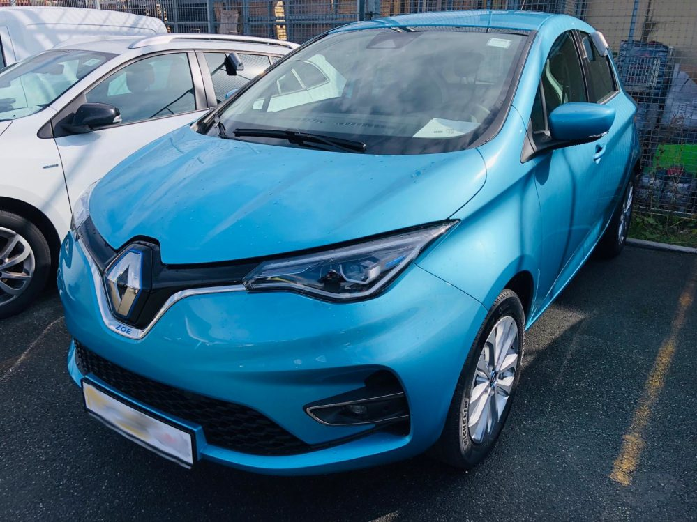 Renault ZOE LIFE Z.E. 40 R110 Kaufakku inkl. Haustürlieferung, Zulassung und Bafa
