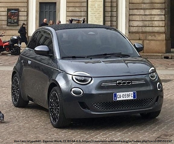 Fiat 500e La Prima 3+1 inkl. Bafa, Haustürlieferung und Zulassung