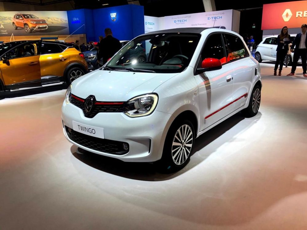 Renault Twingo Z.E Vibes 2021 inkl. Lieferung, Zulassung und Bafa