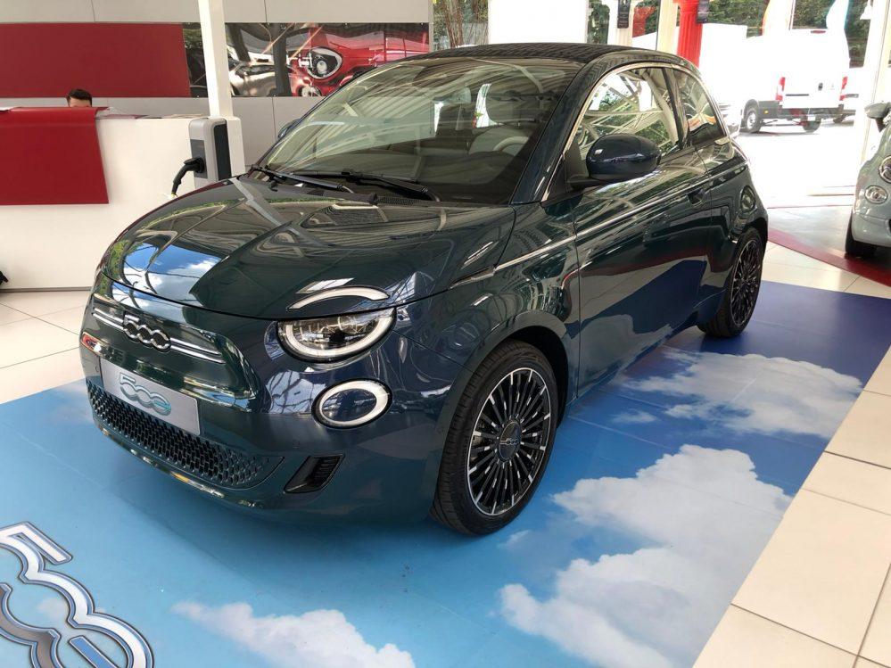 Fiat 500e 87kW / 42kWh und 70kW / 23,7kWh