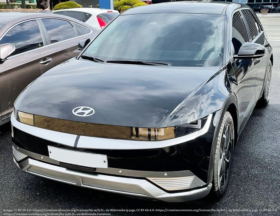 Hyundai IONIQ 5 Projekt 45 ( nur als Vergleich)