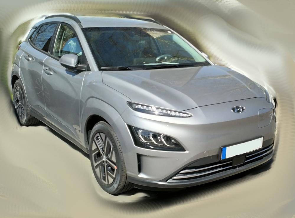 Hyundai Kona Elektro Facelift 2021 Prime-Paket 150 kW/204 PS 64 kWh inkl. Bafa, Lieferung und Zulassung