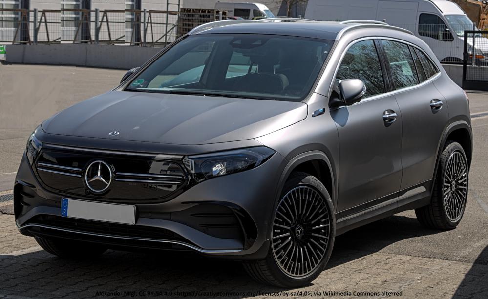 Mercedes EQA 250 inkl. Bafa, Lieferung und Zulassung. Ab 36.799€