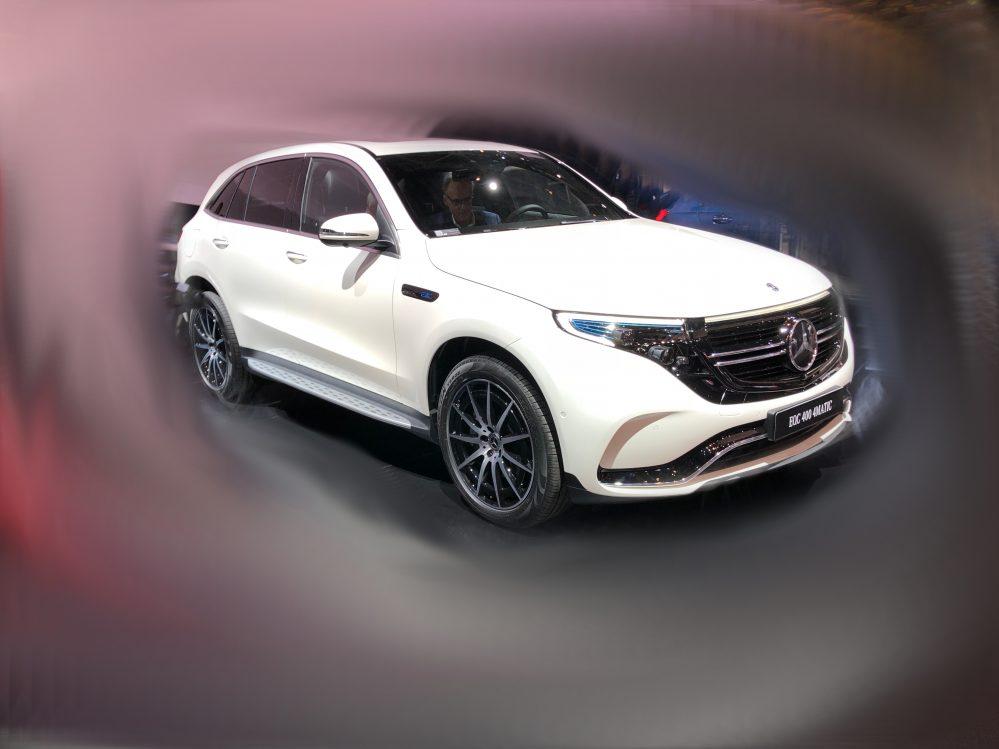 Mercedes EQC 400 4MATIC inkl. Bafa, Lieferung und Zulassung